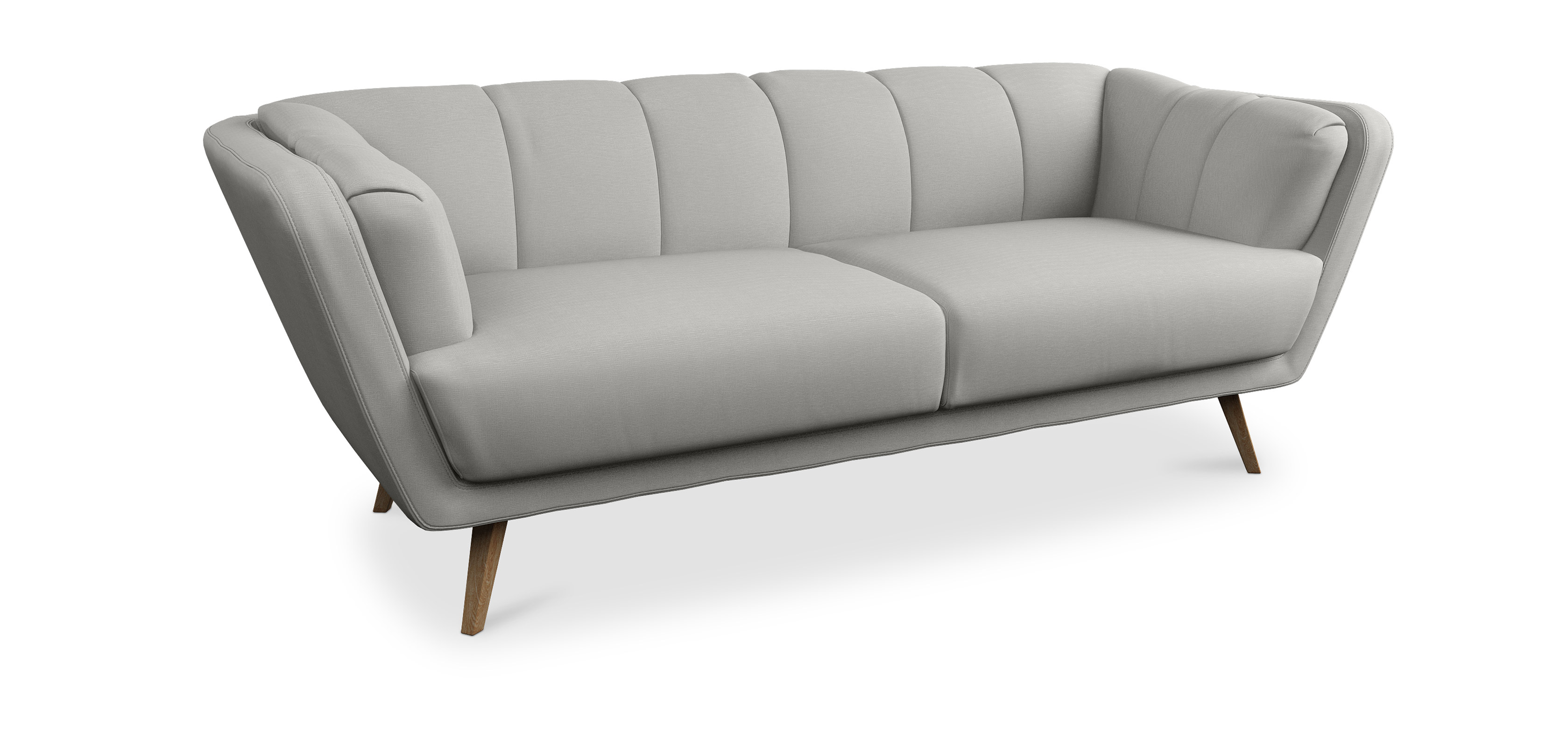 Sof 3plazas estilo escandinavo violeta - Sofa escandinavo ...